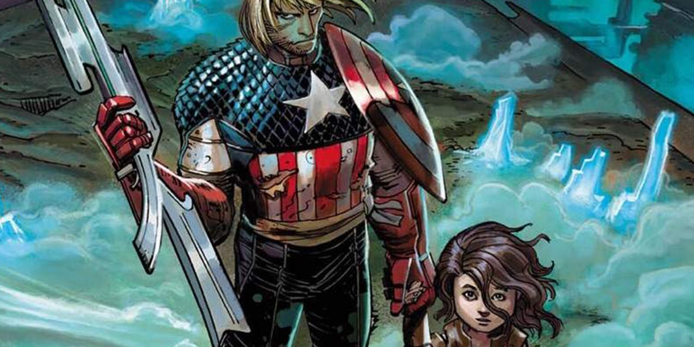 Captain America Kidnapped A Villain's Son And Raised Him As His Own