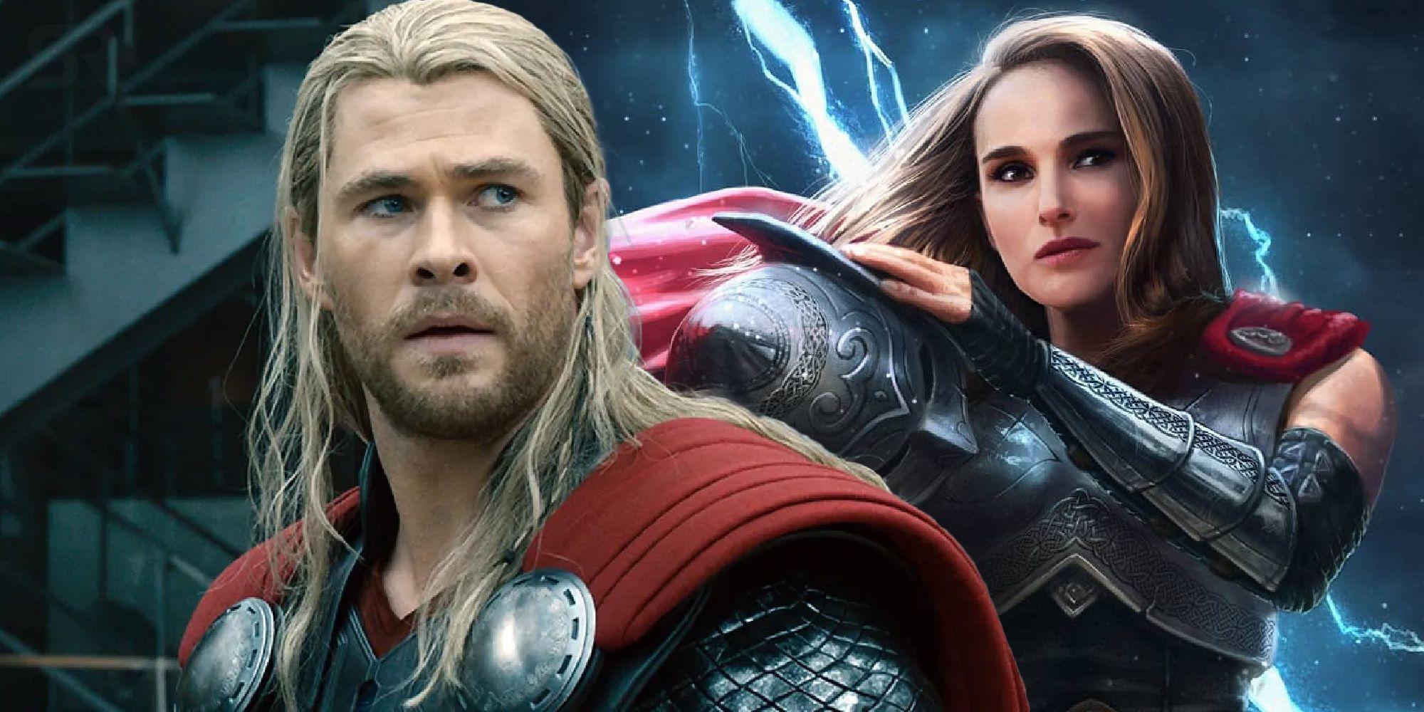Love Thunder How Powerful Portman S Thor Will Be Compared To Hemsworth S Love and thunder as the villain gorr the god butcher. love thunder how powerful portman s