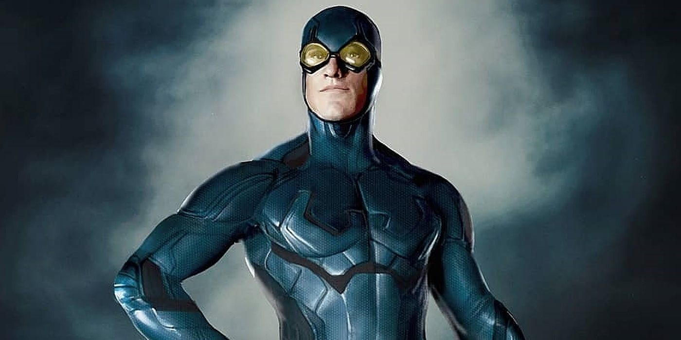 What Darren Criss Could Look Like as DC's Blue Beetle