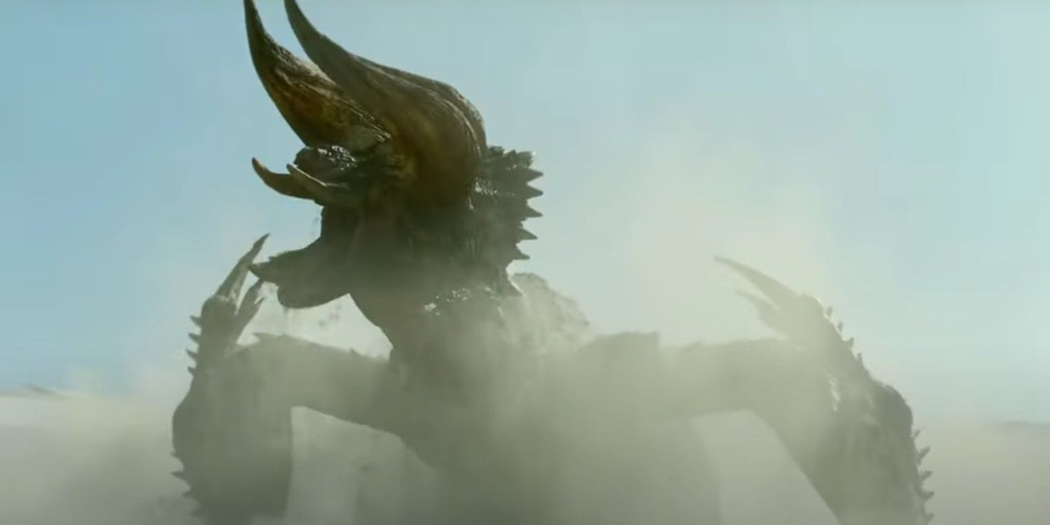 Monster Hunter Movie Trailer Pits Milla Jovovich Against The Diablos