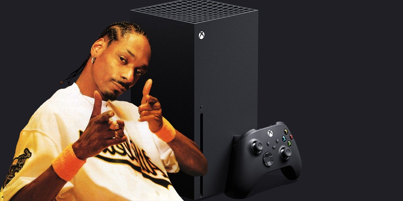 Microsoft Sent Snoop Dogg A Literal Xbox Series X Fridge For His Birthday