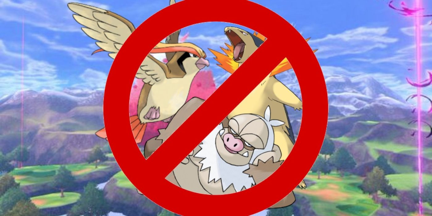 Every Pokémon Excluded From the Crown Tundra | Screen Rant