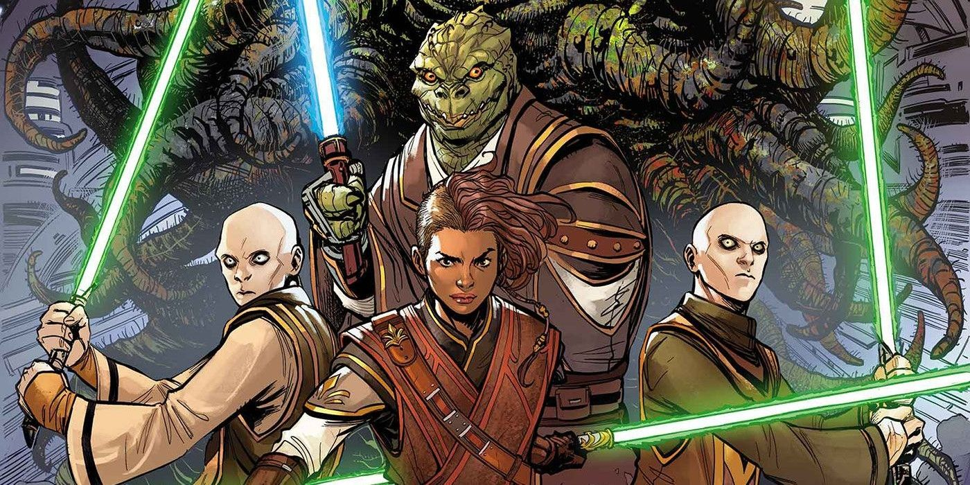 Star Wars The High Republic S Newest Jedi Heroes Arrive In Comic Art He worked with qui gon jinn and obi wan at a peace gungi was a wookiee youngling that faced trials on ilum under the guidance of ahsoka. newest jedi heroes arrive in comic art