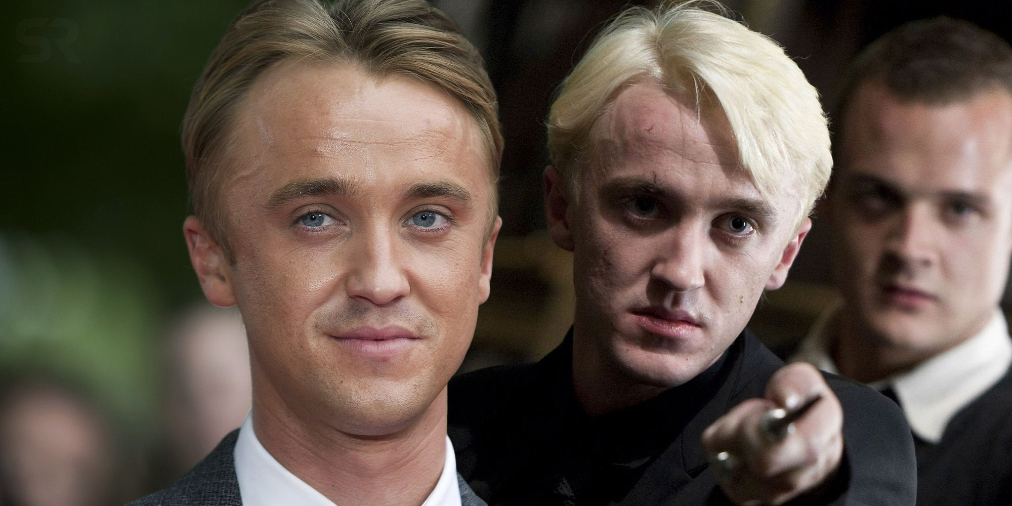 Tom Felton Relives Harry Potter Feud In Hilarious Photos