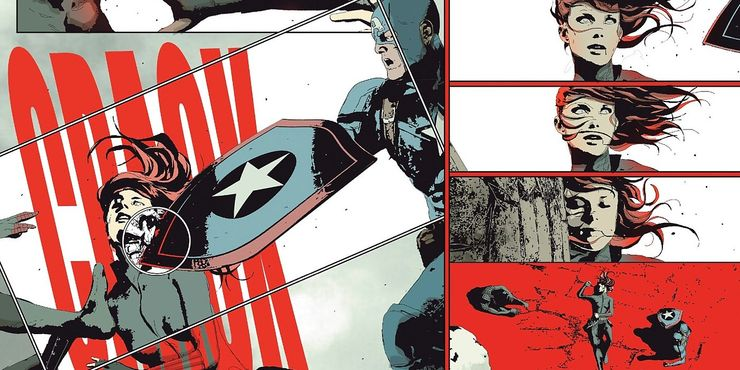 Black Widow: Captain America Killed Natasha in The Comics
