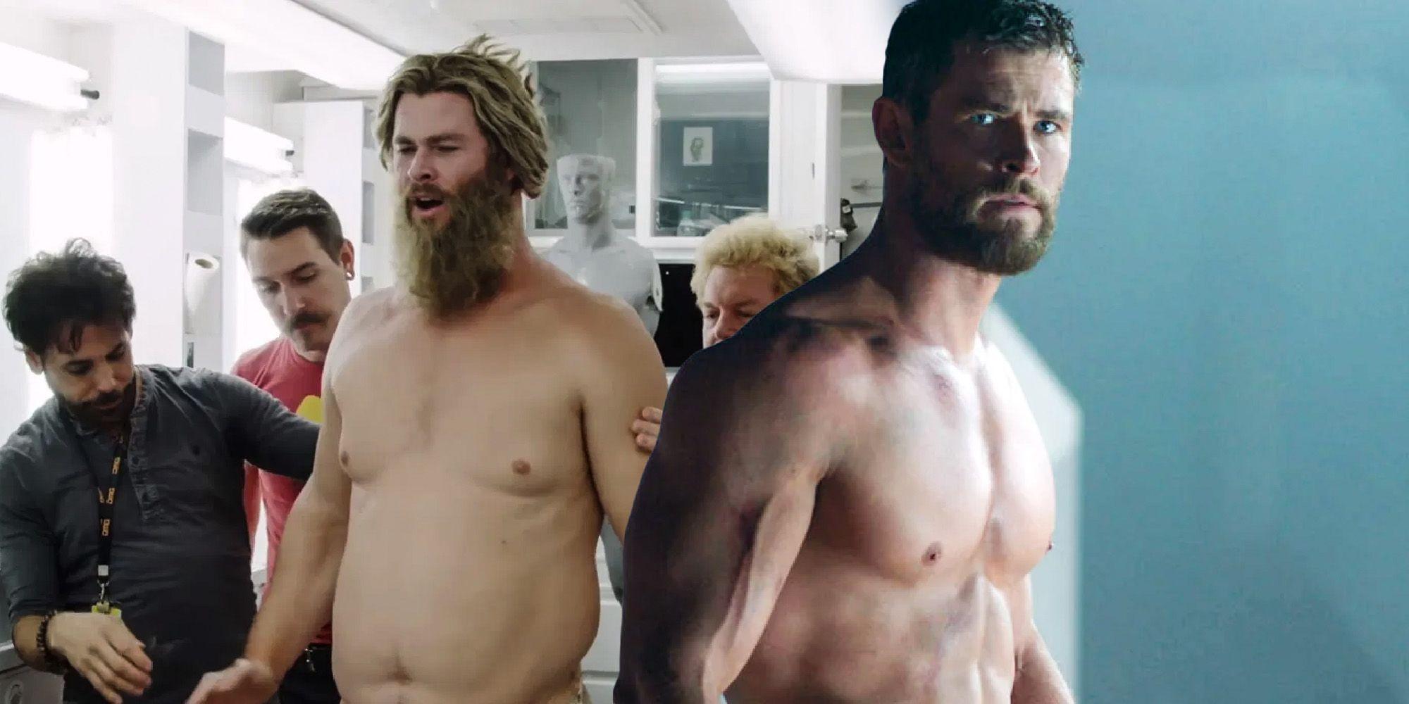 Pierderea incredibilă în greutate a lui Chris Hemsworth pentru noul său film - Give Me Leisure