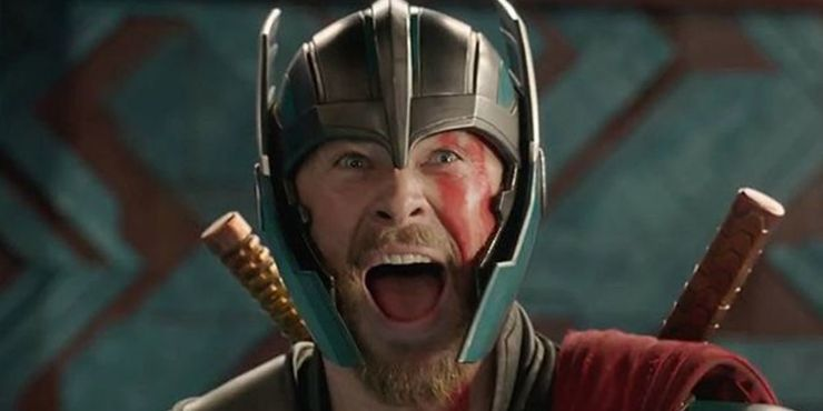 Chris Hemsworth in Thor Ragnarok
