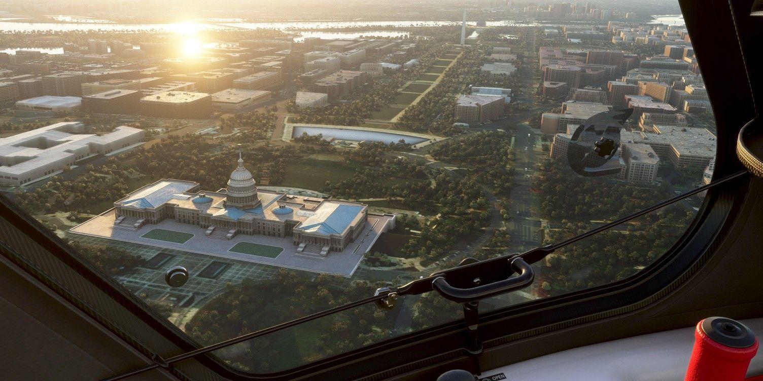 Microsoft Flight Simulator Update Adds National Mall & More US Locations