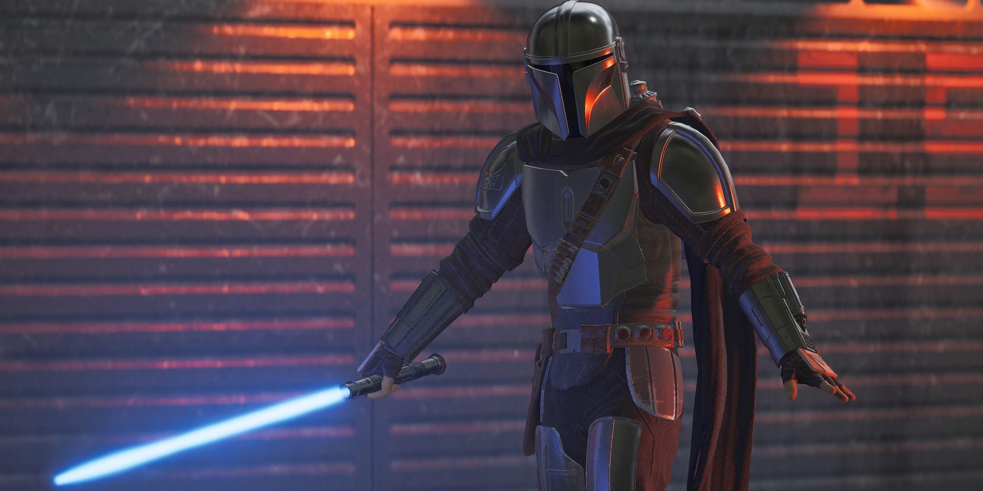 The Mandalorian Wields a Lightsaber In The Best Jedi: Fallen Order Mod