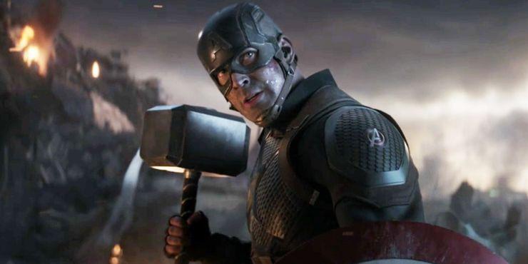 Steve Rogers in Avengers Endgame