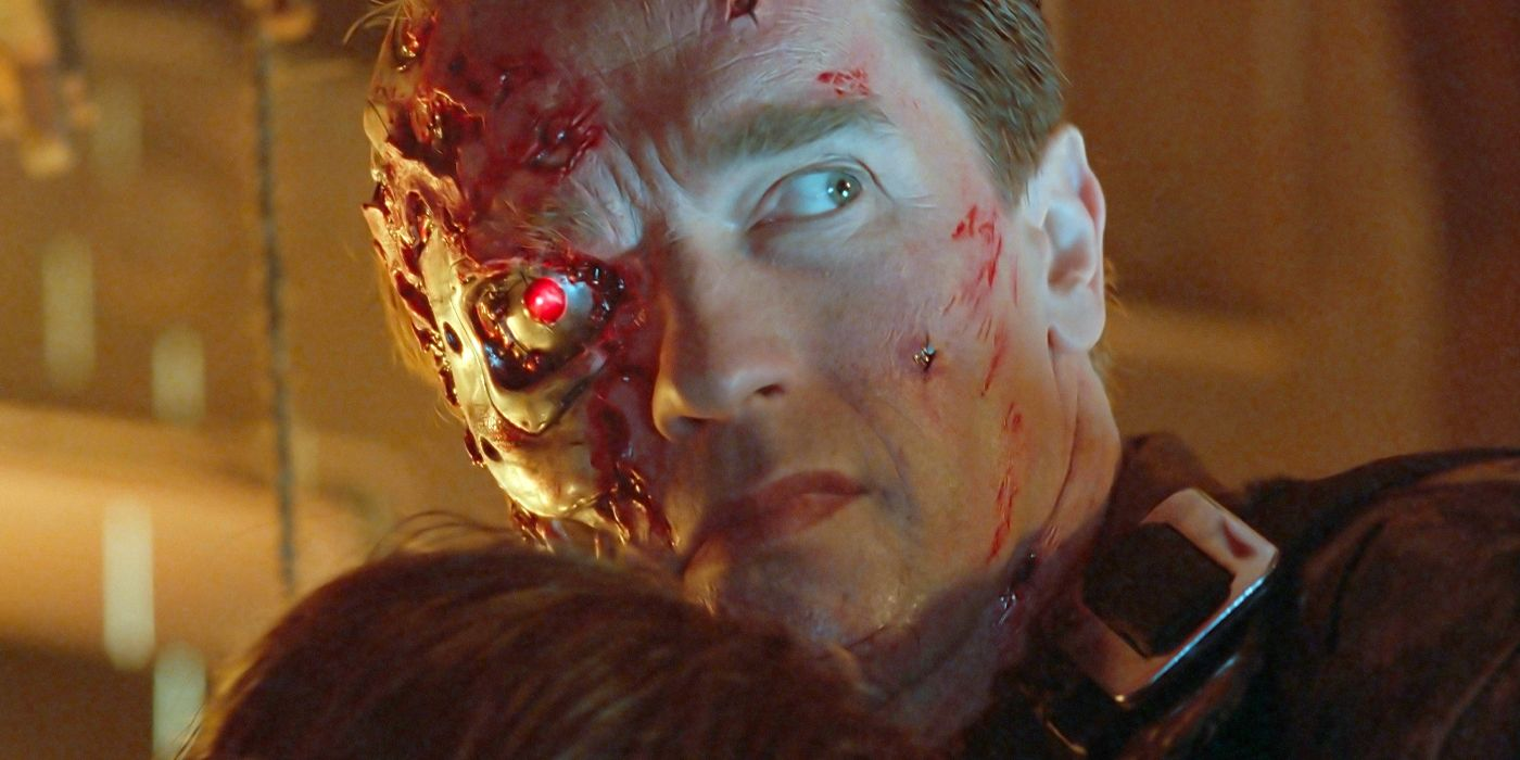 Arnold Schwarzenegger's Makeup Terminator 2 made his daughter cry