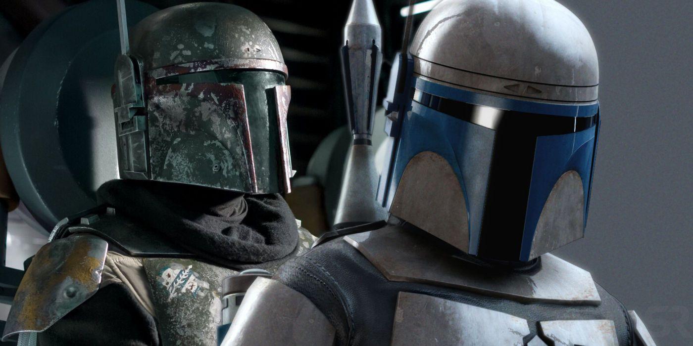 Star Wars Made Jango Fett A Mandalorian, But Not Boba