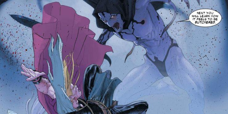 Thor & Gorr in Thor: Love & Thunder