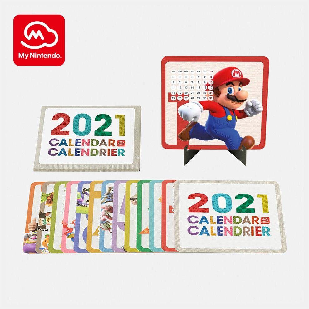 A Nintendo adiciona o calendário 2021 às recompensas dos meus pontos Nintendo Platinum 1