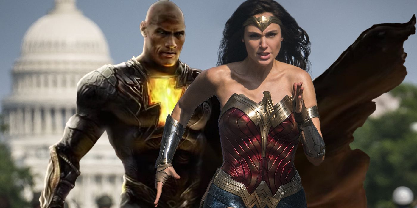Gal Gadot Wants A Wonder Woman Crossover With Black Adam
