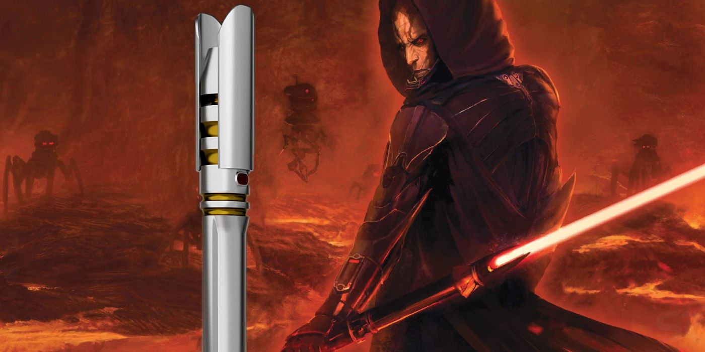 Star Wars Introduces A New Sith Lightsaber In Canon | Screen Rant