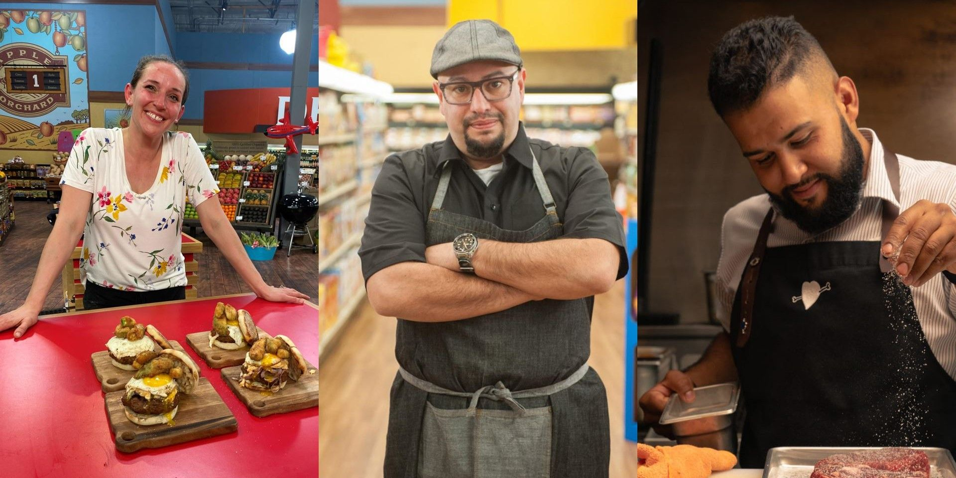 10 Most Memorable Chefs On Guy S Grocery Games Screenrant