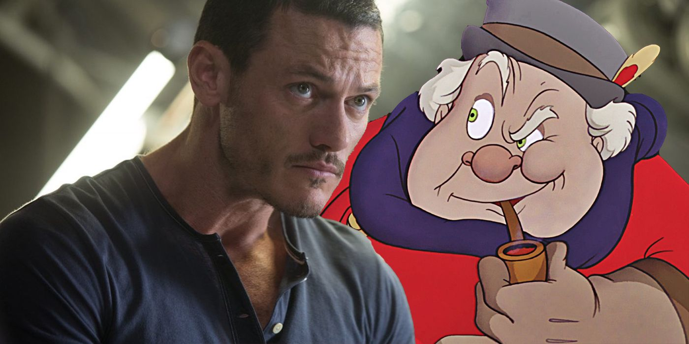 Disney's Pinocchio Casts Beauty & The Beasts Luke Evans
