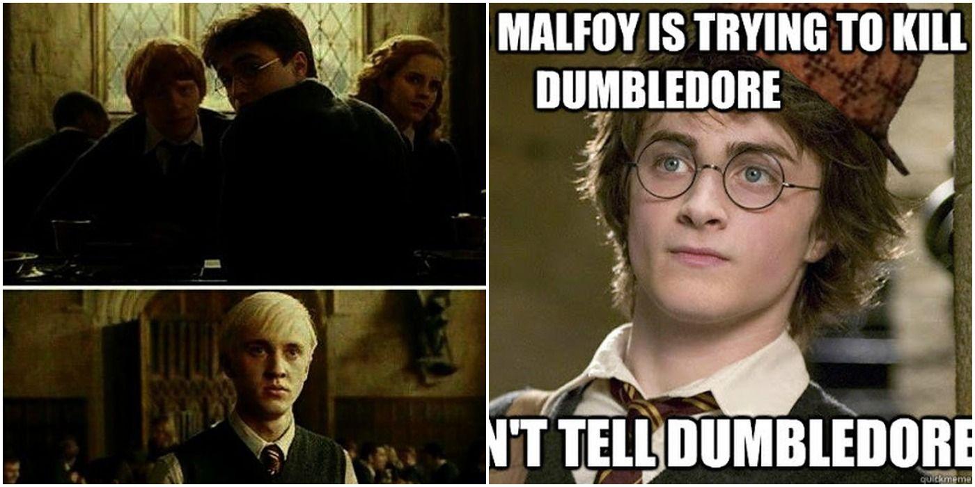 Harry Potter: 10 Hilarious Draco & Harry Memes | ScreenRant
