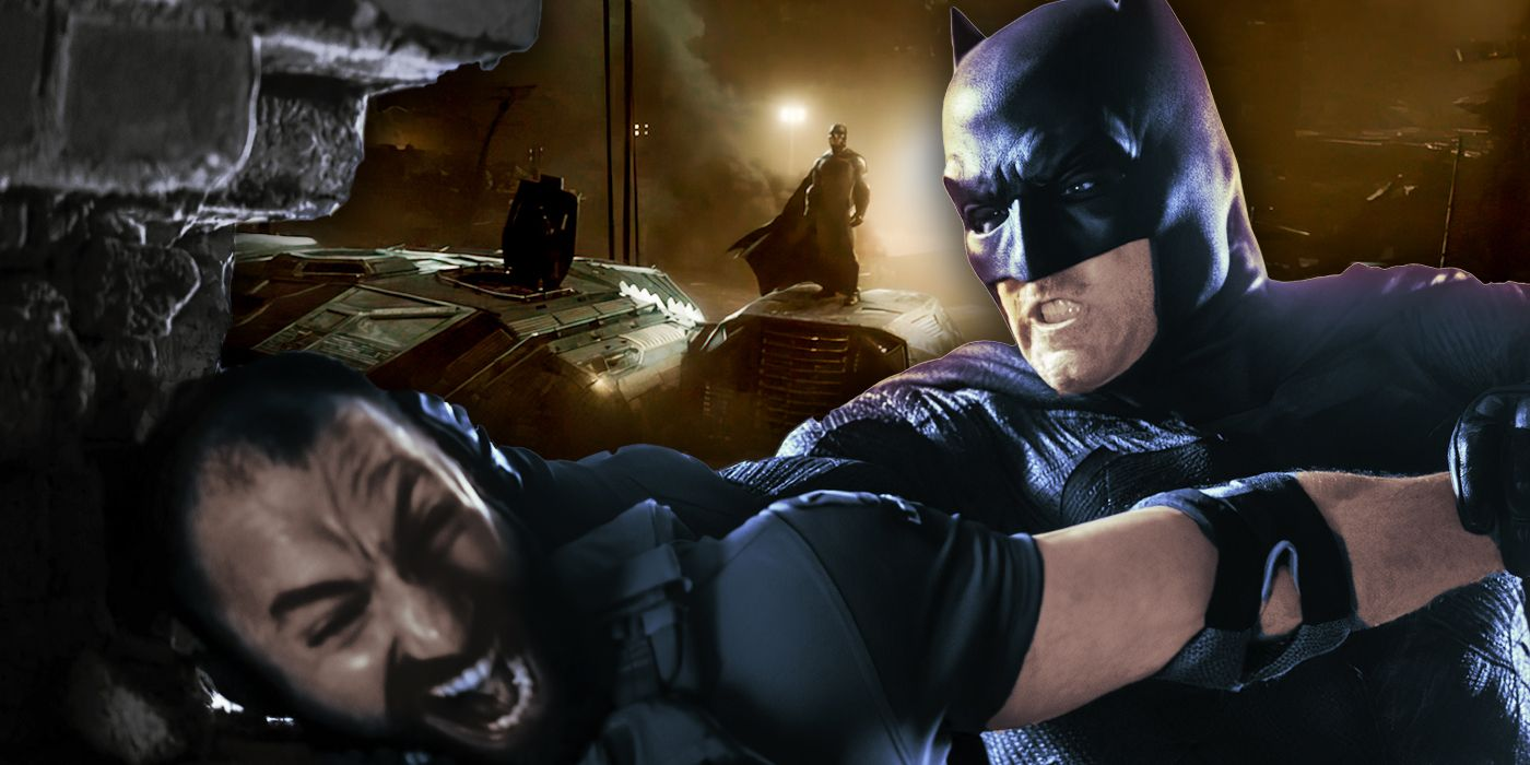 Snyder's Justice League Is Over-Powering Batman, And That ...