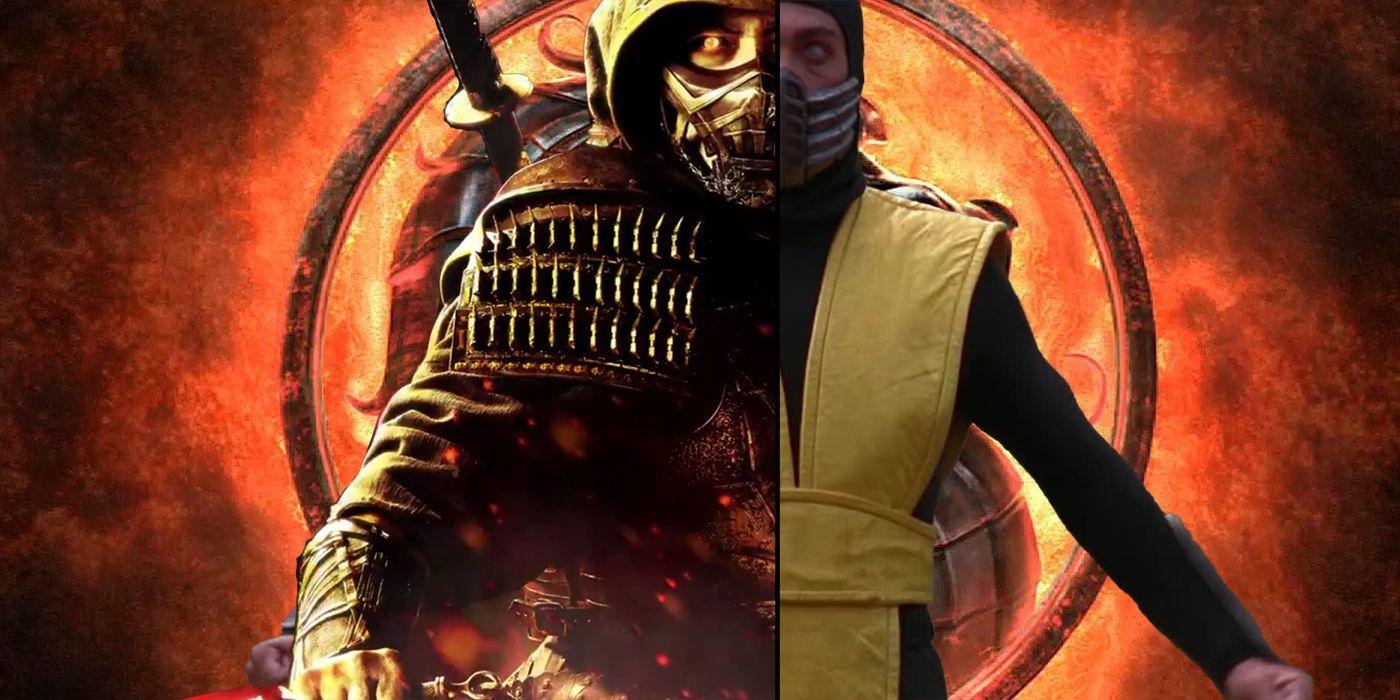 Mortal Kombat Movie Poster Reveals Best Look At Scorpion Costume