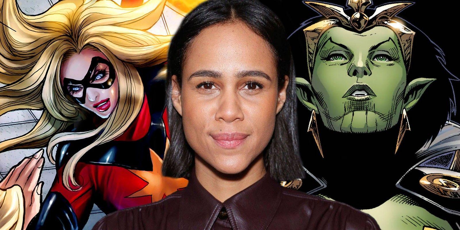 Captain Marvel 20 Theory Who Zawe Ashton Villain Character Is