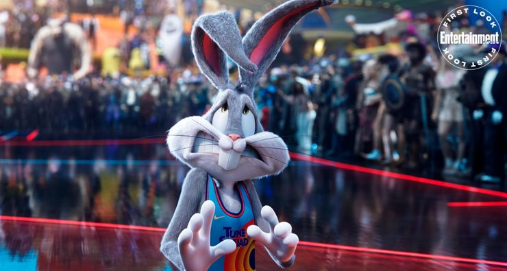 Space Jam 2 Images Reveal LeBron James & 3D Bugs Bunny