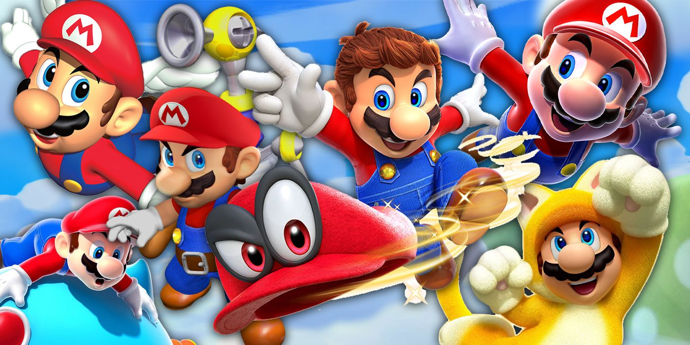 Every 3D Mario Game Ranked From Worst To Best | Screen Rant