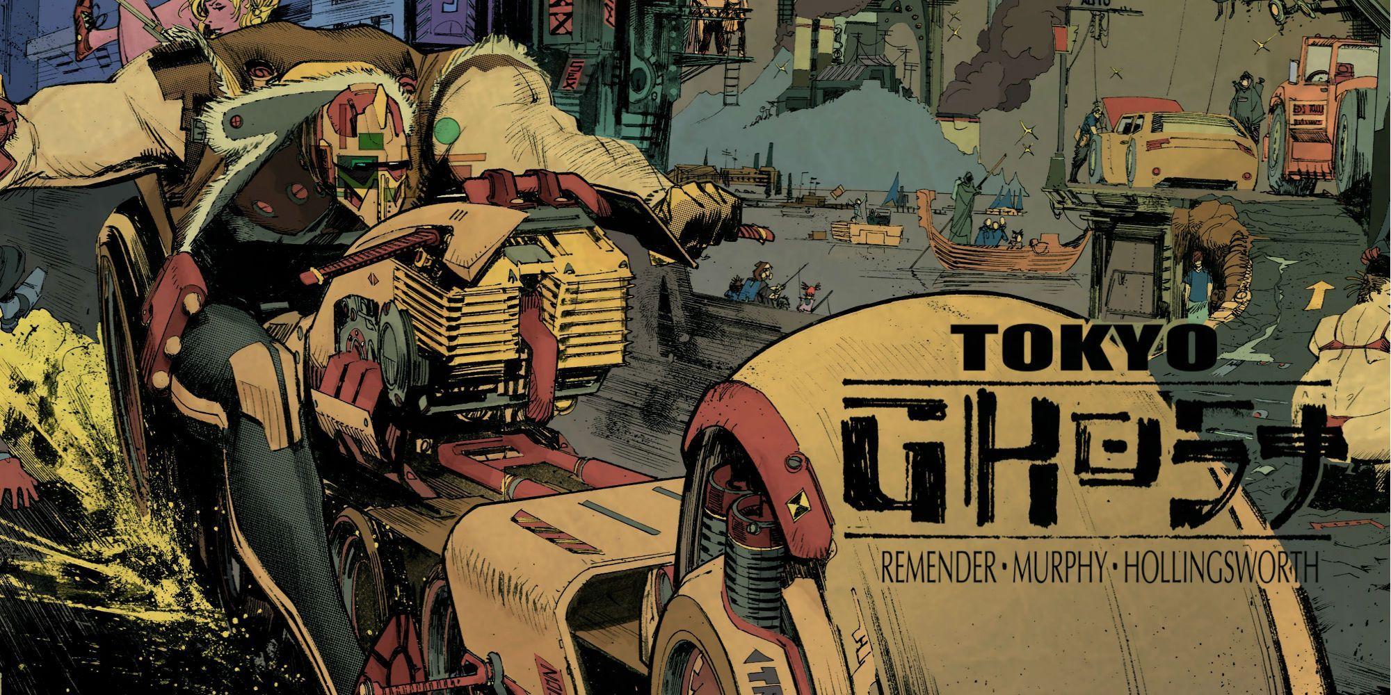 Adaptação do filme Tokyo Ghost da Comic Book Lands com Cary Fukunaga na direção 1