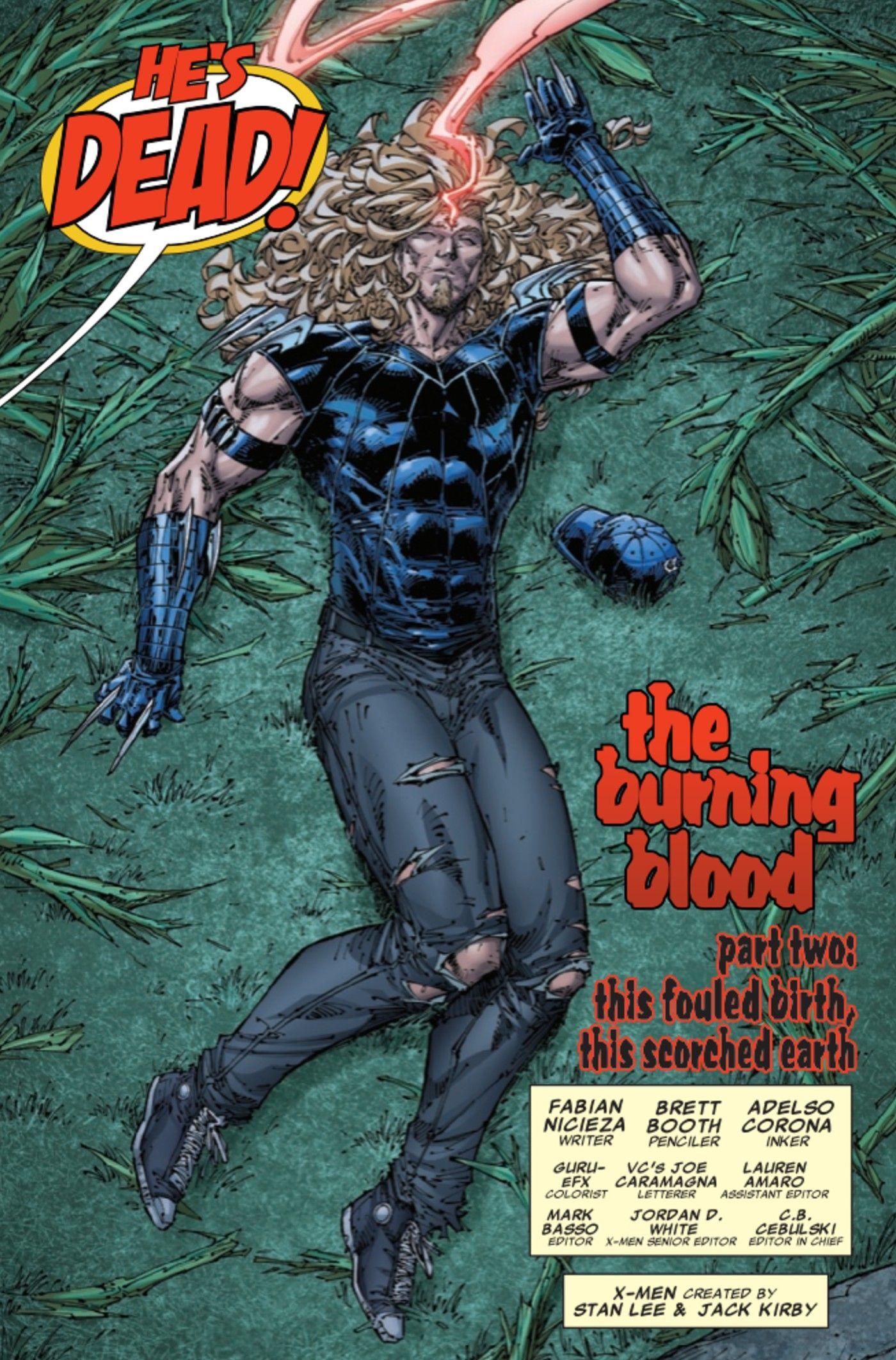 X-Men: O pai de Ciclope prova que é um assassino de sangue frio 3