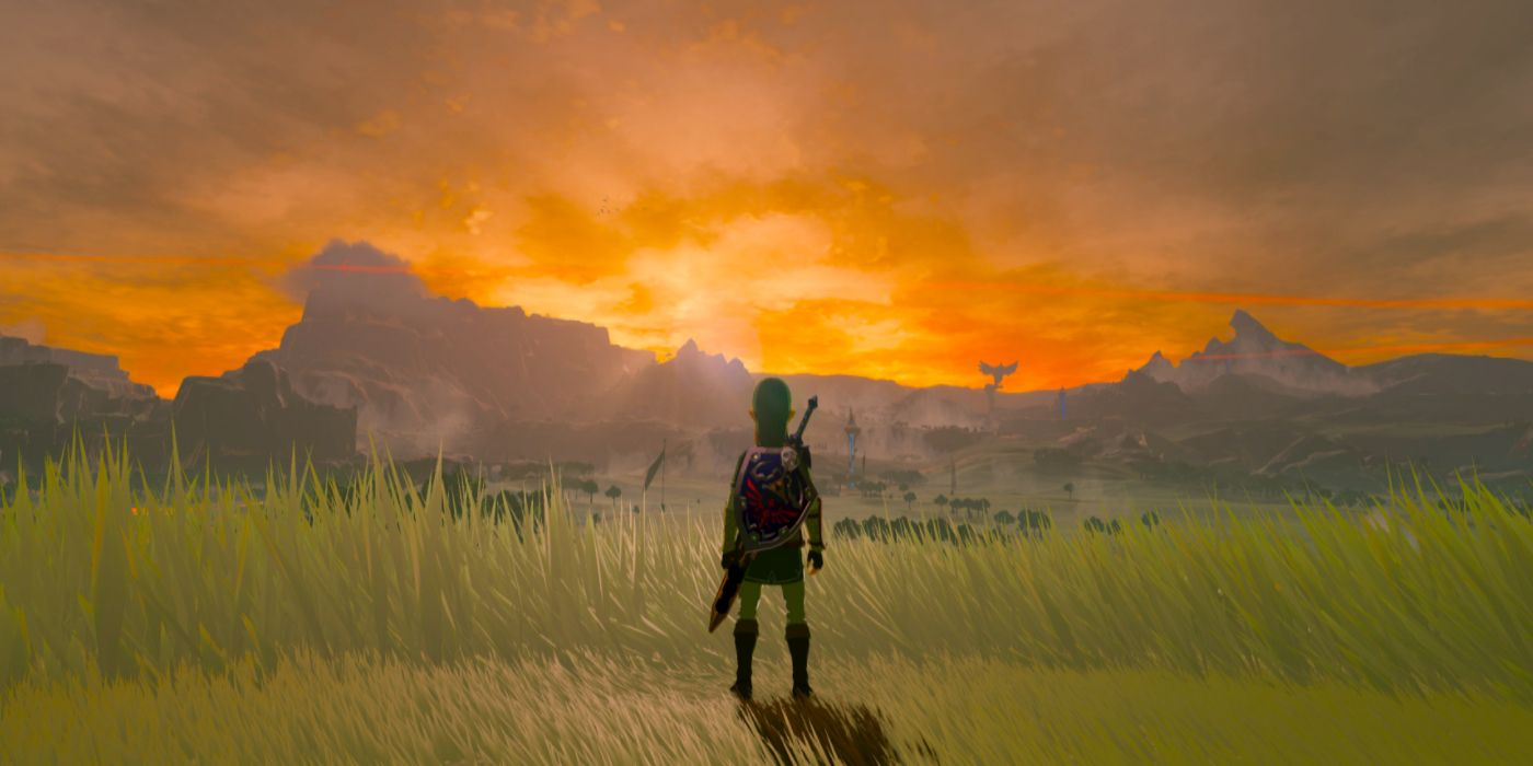 Breath Of The Wild's Weather System Shown Off In Time Lapse Video