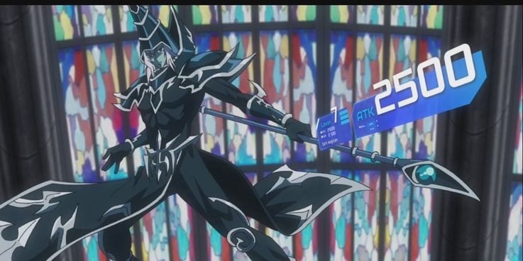 Yugioh Dark Magician from Dark Side of Dimensions