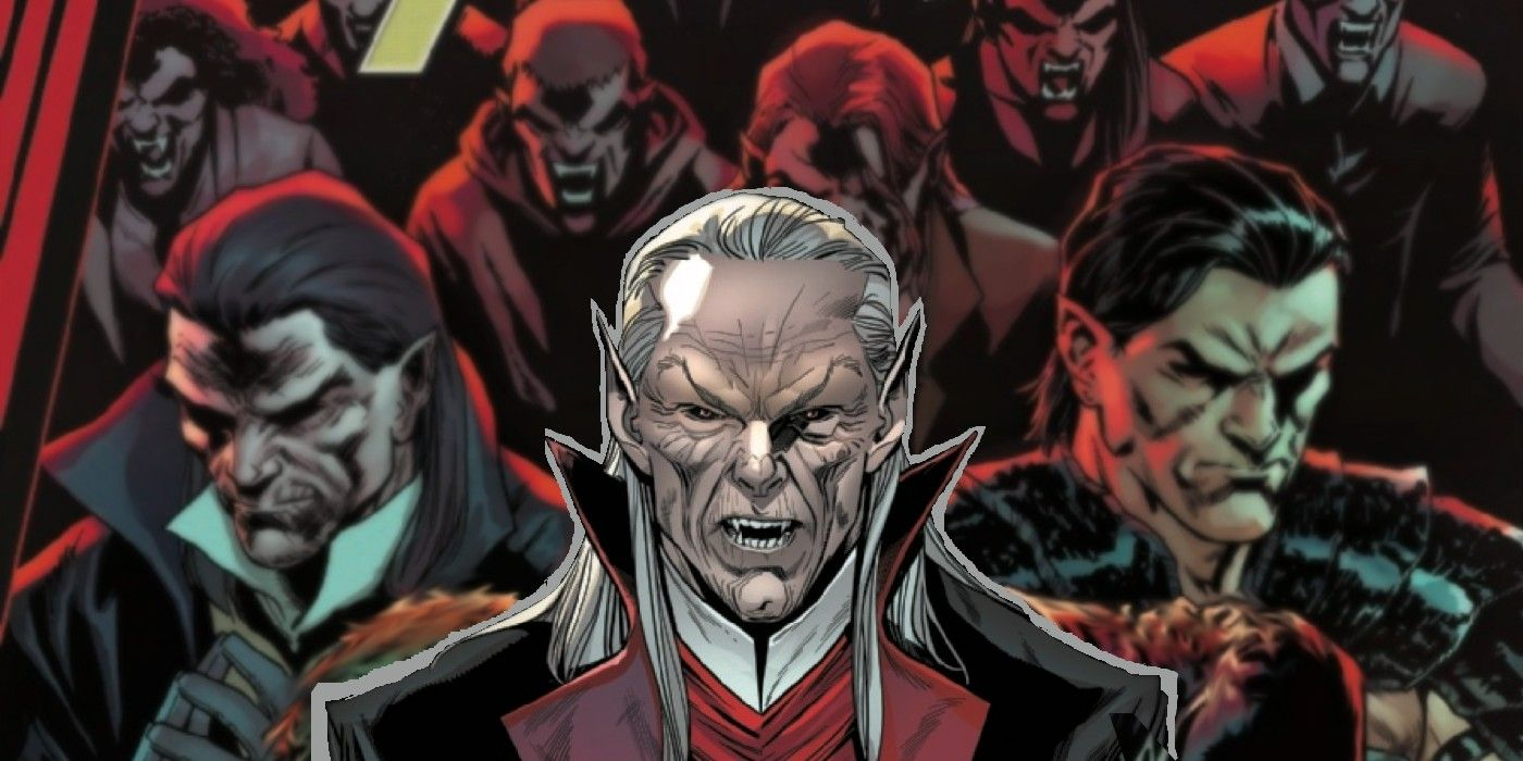 Dracula is Actually Becoming A Hero in Marvel's Universe