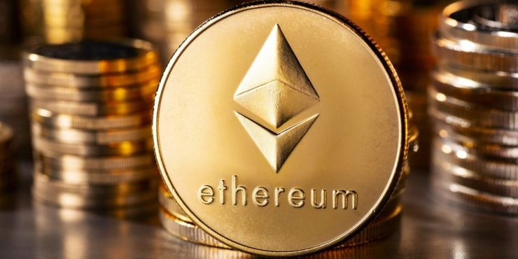 The Ethereum cryptocurrency.