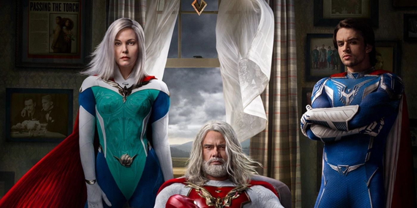 Jupiter's Legacy Moving Posters Show Closer Look At Superhero Costumes