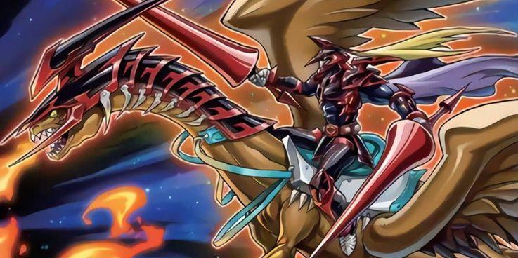 Yugioh Lord Gaia the Fierce Knight card art