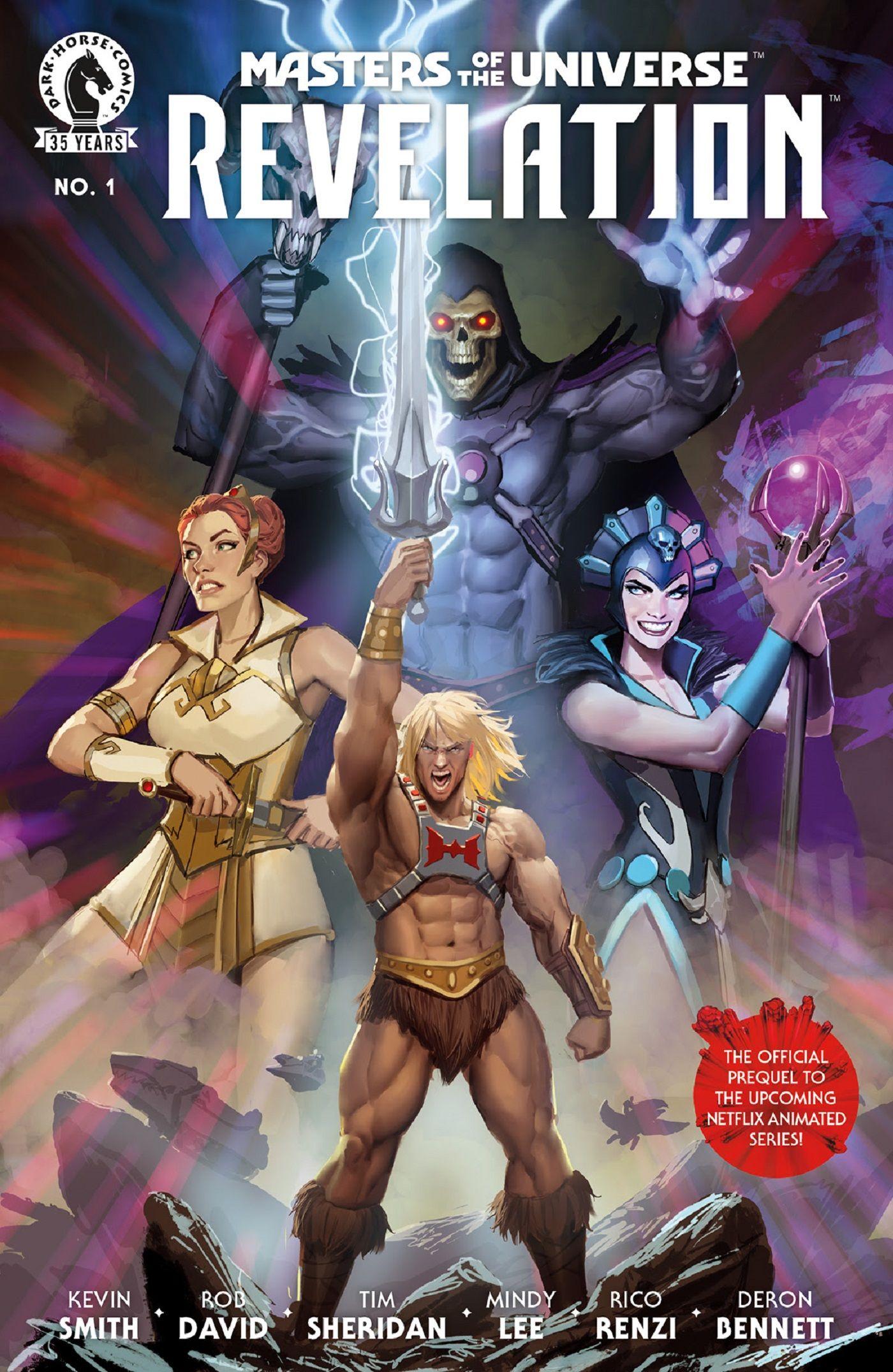 Série Master Of The Universe com Netflix torna-se um quadrinho spin off de He-Man em Master Of The Universe 1
