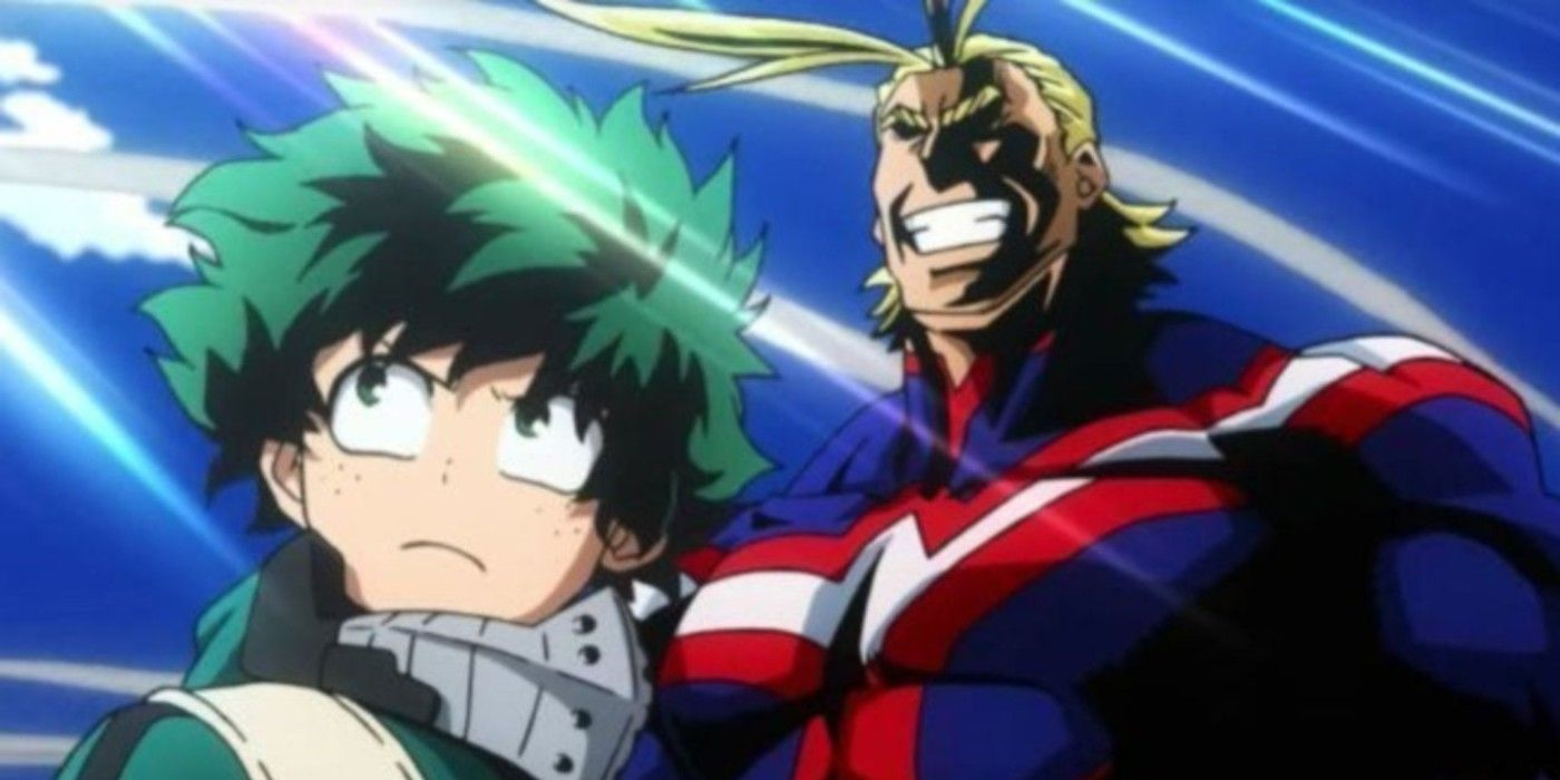 My Hero Academia: Why Deku Is Destined To Be More Powerful Than All Might