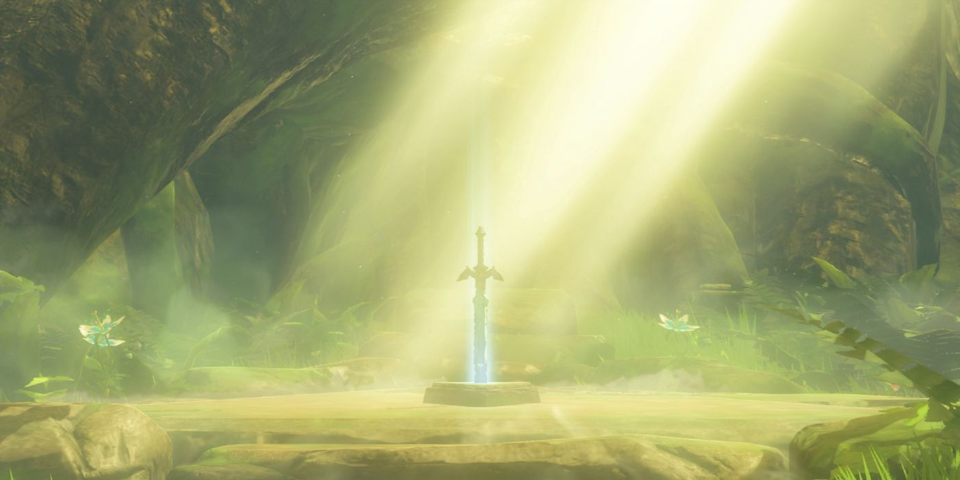 Zelda: Who Put The Master Sword In The Stone? | Screen Rant