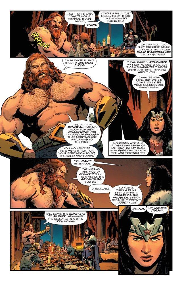DC; Thor; Mulher-Maravilha