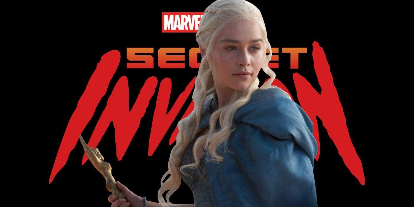 Secret Invasion Art Imagines Emilia Clarke As A Shapeshifting Skrull