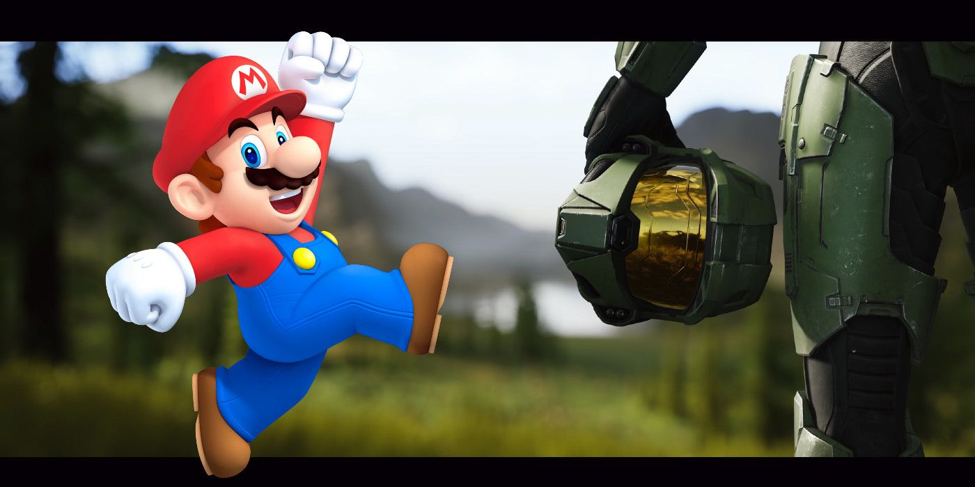 Halo Instagram Posts Mario Crossover Art, Maybe Teasing Nintendo Collab