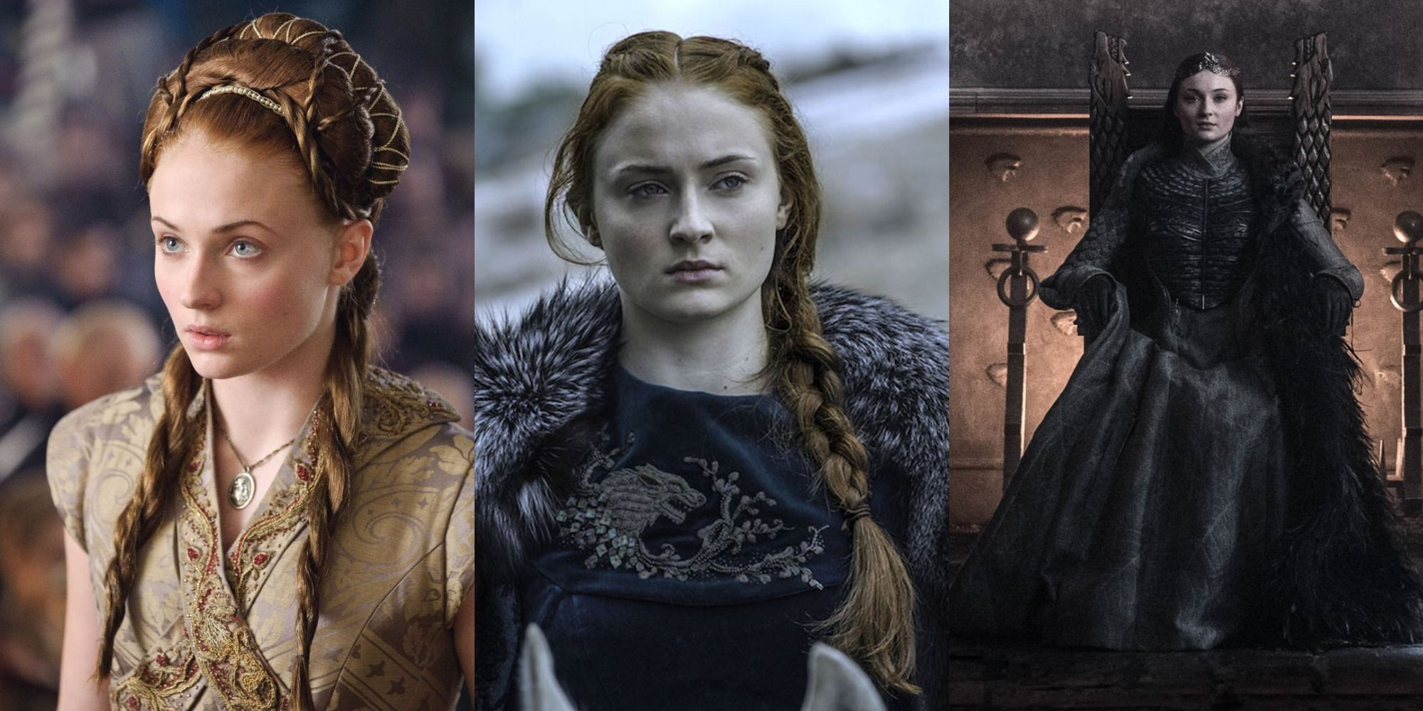 Game Of Thrones: Sansa's Slow Transformation Over The Years (In Pictures)