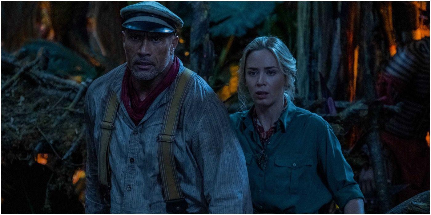 Jungle Cruise Image Teases Dwayne Johnson & Emily Blunt's River Adventure