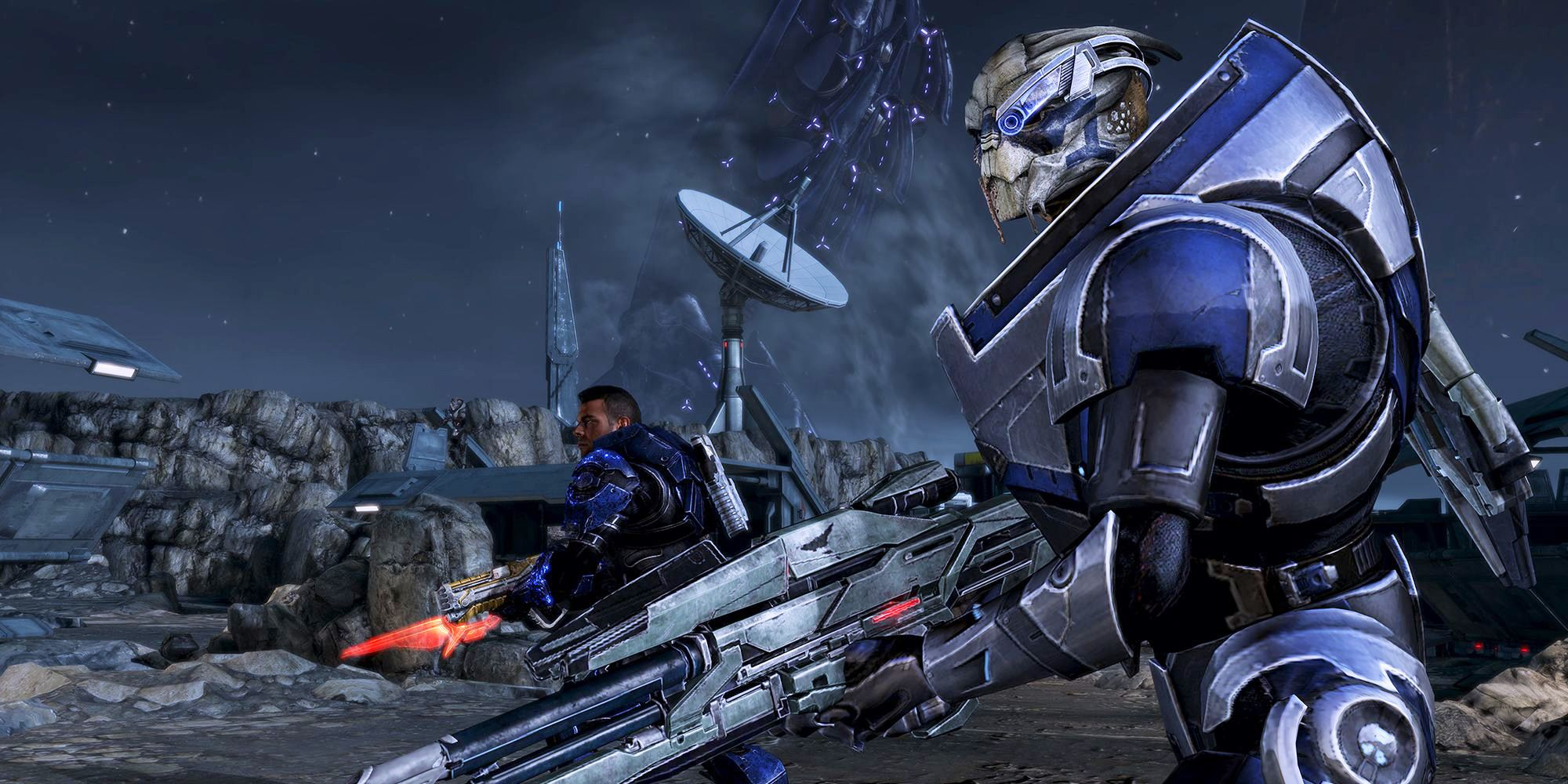 Mass Effect: The First Contact War Explained | Screen Rant