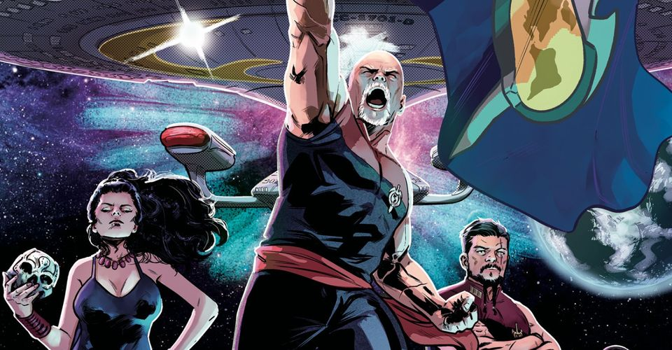 Angry Picard is angry in the latest look into Star Trek Mirror Universe