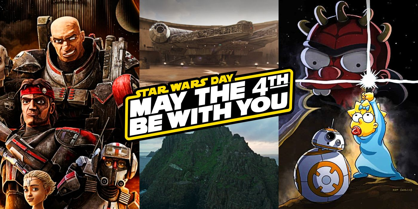 Star Wars Day: Everything Releasing On Disney+ for May 4th 2021