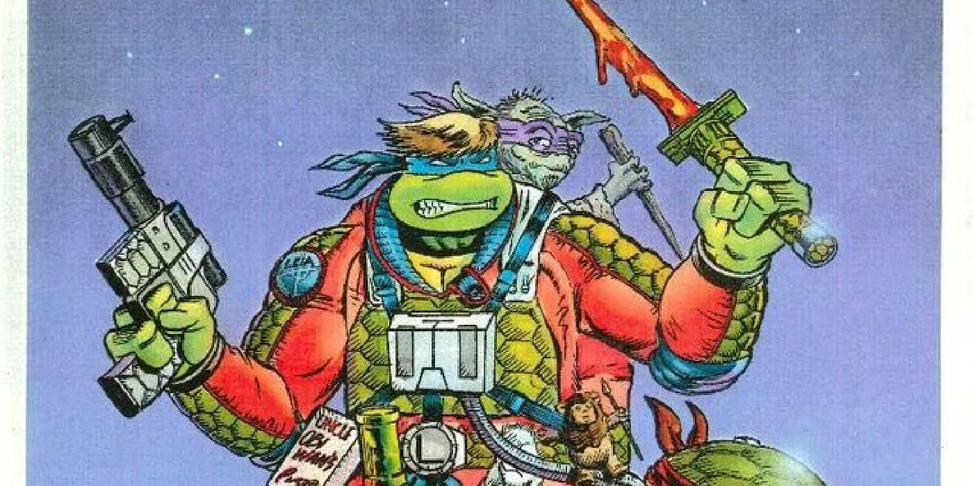 Star Wars & TMNT Crossover Concept Art Shows Toys That Didn't Happen