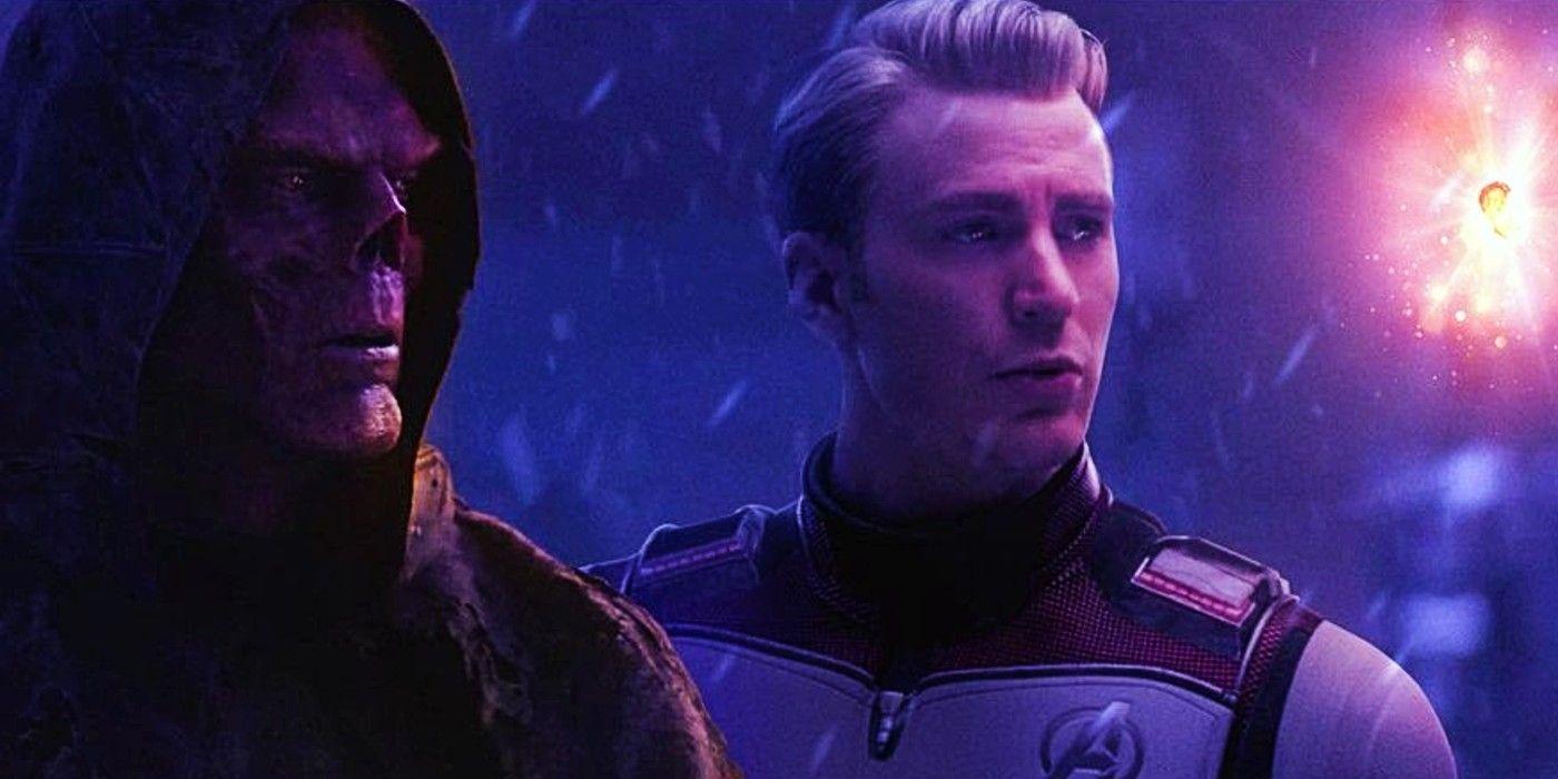 Steve Rogers Returns All 6 Infinity Stones In Post-Endgame Fan Art