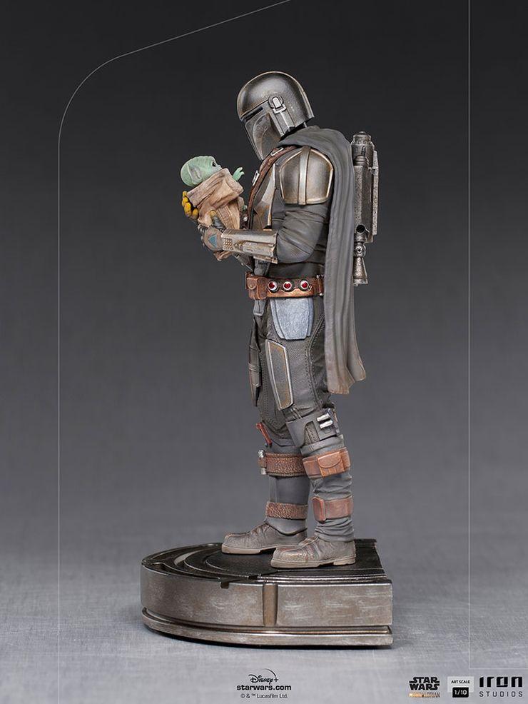 The-Mandalorian-Grogu-Goodbye-Statue-Sid